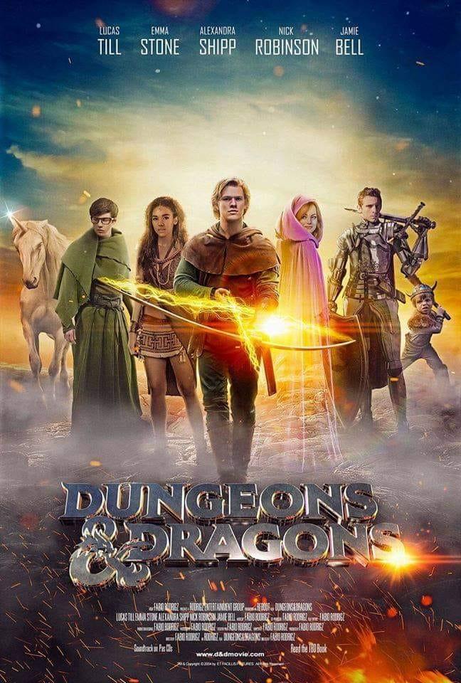 dnd poster
